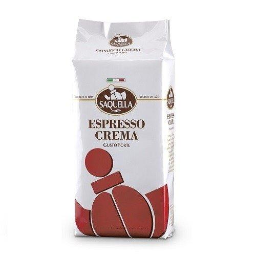 Saquella Espresso Crema kawa ziarnista 1kg