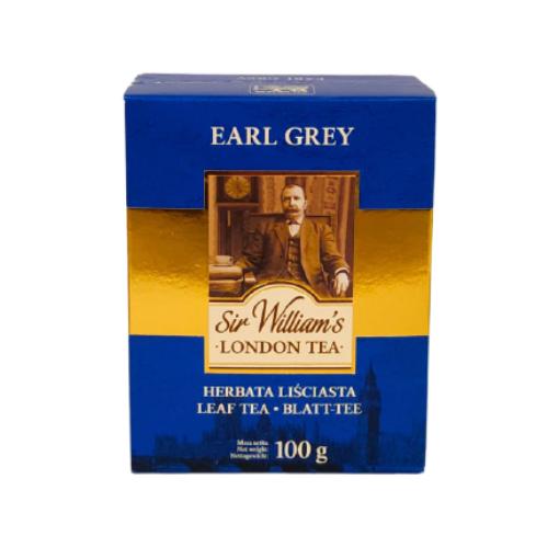 Sir William's Earl Grey 100g herbata liściasta