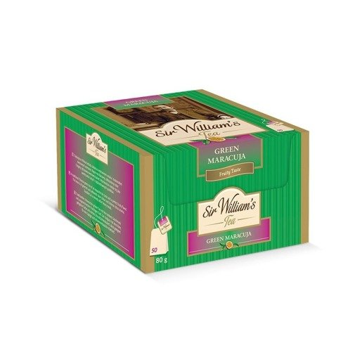 Sir William's Tea Green Maracuja 50x1,6g