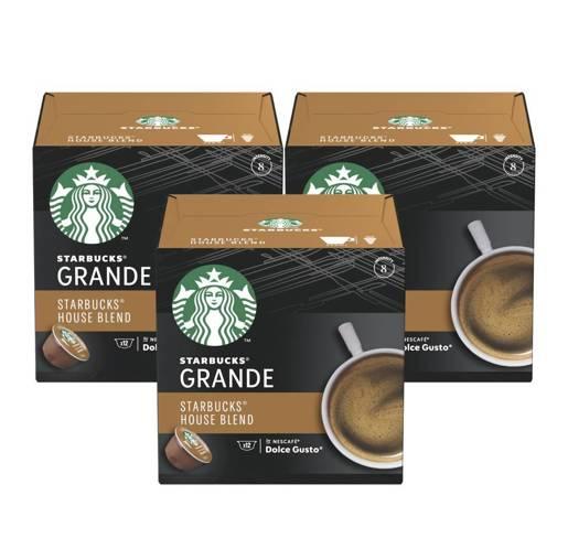 Starbucks Dolce Gusto Grande House Blend 12 kapsułek x 3
