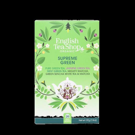 Supreme Green Zestaw zielonych herbat 20 saszetek