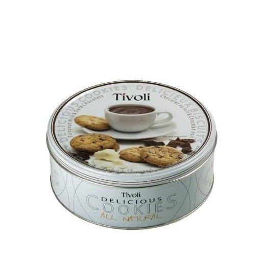 Tivoli - Milk & Dark Chocolate ciastka z kawałkami czekolady 150g