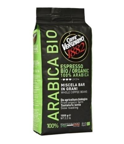 Vergnano Arabica Bio Organic 1kg kawa ziarnista