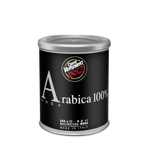 Vergnano Moka 250g kawa mielona - puszka x 12