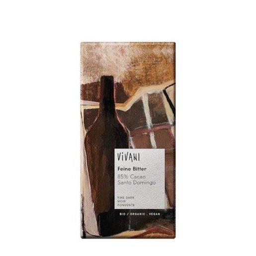 Vivani 85% Cacao Santo Domingo - czekolada gorzka 85% 100 g