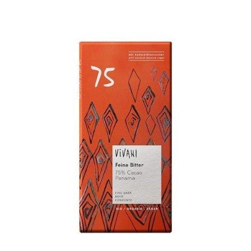 Vivani Feine Bitter czekolada gorzka 75%  BIO 80g