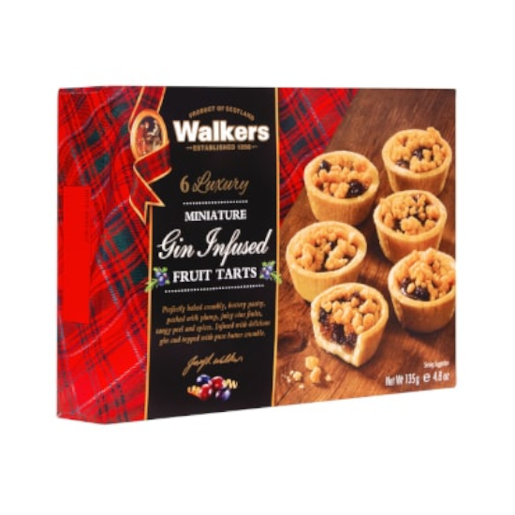 Walkers Gin Infused Tarts - mini tarta 135g