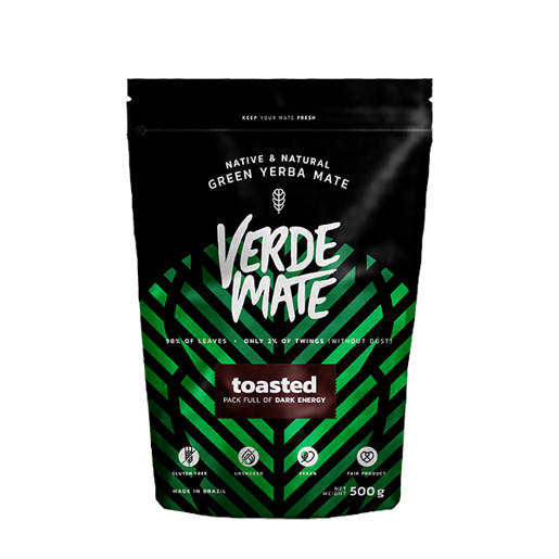 Yerba Mate Green Verde Mate Toasted 500g