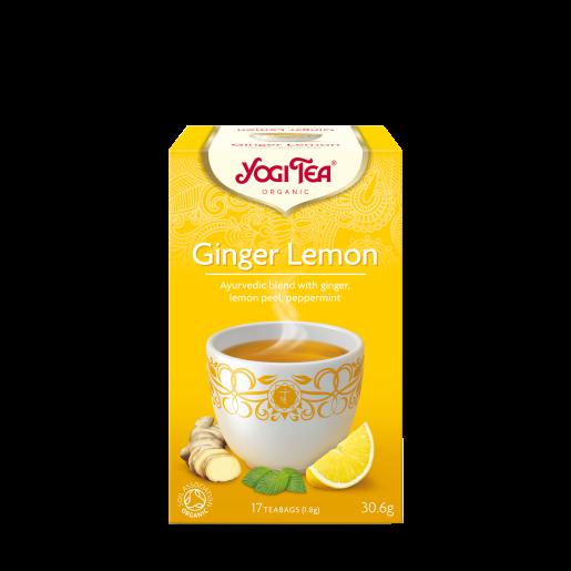 Yogi Tea - Ginger Lemon 17 saszetek