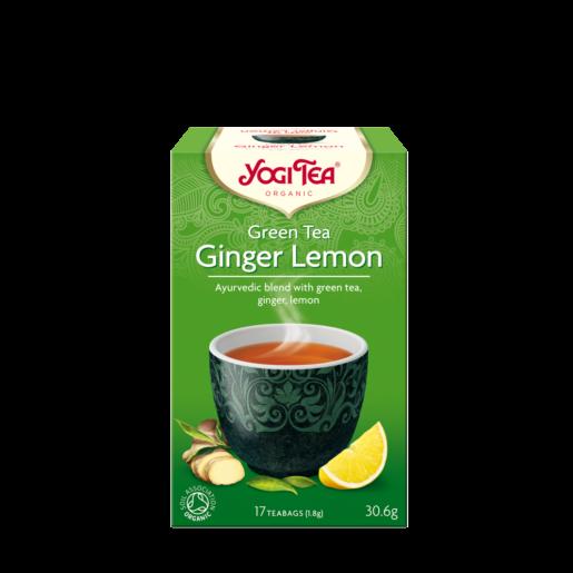 Yogi Tea Green Tea Ginger Lemon 17 saszetek