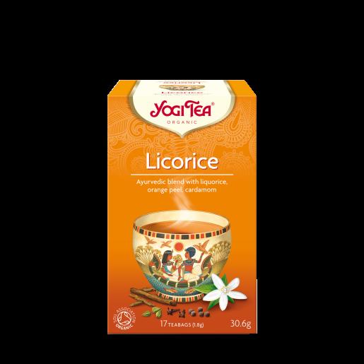 Yogi Tea Licorice 17 saszetek - lukrecja z dodatkami