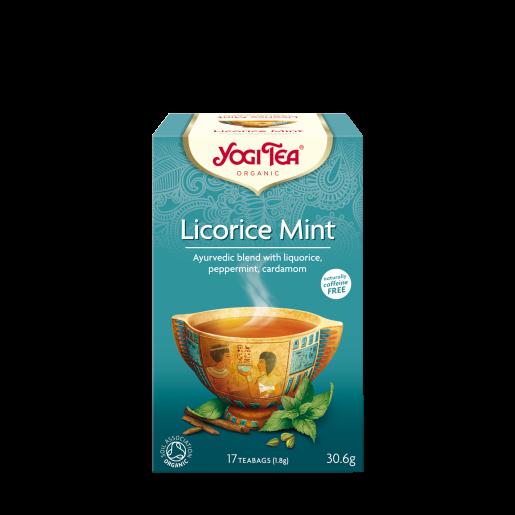 Yogi Tea - Licorice Mint 17 saszetek, mięta z lukrecją