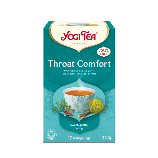 Yogi Tea Throat Comfort 17 saszetek