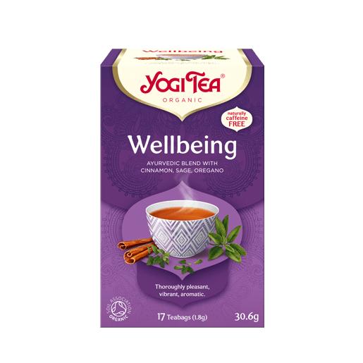 Yogi Tea Wellbeing (pełnia życia) 17 saszetek