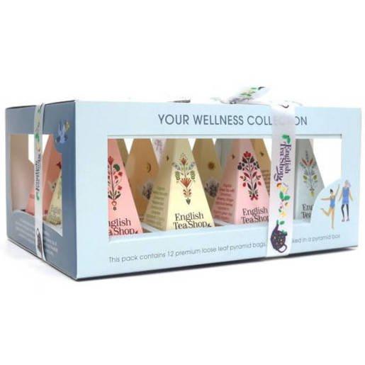 Your Wellness Collection - 12 Piramidek z herbatą