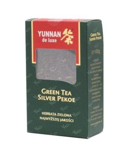 Yunnan Green Tea Silver Pekoe 100 g herbata liściasta zielona