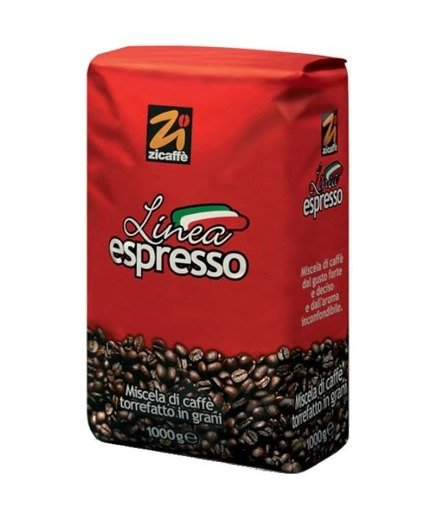 Zicaffe Linea Espresso 1kg kawa ziarnista x 6