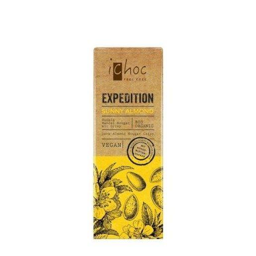 iChoc - Sunny Almond 50g czekolada nugatowa z migdałami