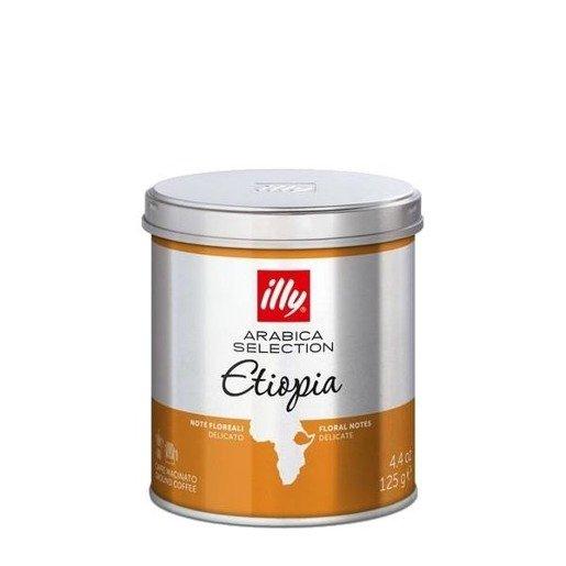 illy monoarabica Etiopia 125g kawa mielona